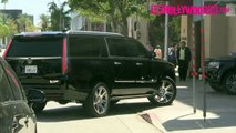 Corey Gamble Drives Kris Jenners New Range Rover To Meet Justin Bieber At The Montage Hot