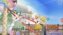Project Diva Dreamy Theater Extend Hatsune Miku & Rin Kagamine カラフル×メロディ Colorful × Melody