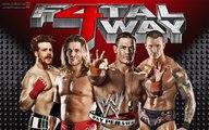 John Cena & Sheamus & Randy Orton & Chris Jericho & Edge vs The Nexus