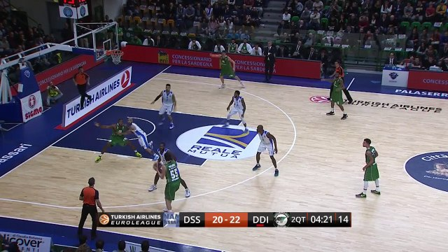 Regular Season Round 6 MVP:   Regular Season, Round 6 MVP: Luke Harangody, Darussafaka Dogus Istanbul