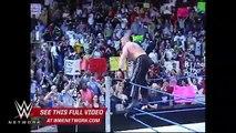 WWE Network Brock Lesnar rides Steve Austins ATV like he stole it SmackDown March 4 2004