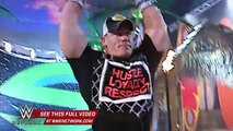 WWE Network The Rock and John Cena exchange biting insults in WWE Rivalries