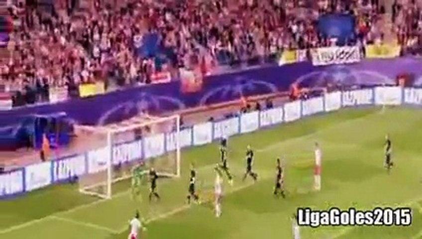 Atletico Madrid vs Benfica 1 2 Goles y Resumen Completo del Partido 30.09.2015