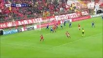 1-0 Nicola Belmonte Goal Italy  Serie B - 21.11.2015, Perugia Calcio 1-0 Brescia Calcio