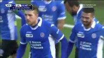 1-0 Galabinov Goal Italy  Serie B - 21.11.2015, Novara Calcio 1-0 Spezia Calcio