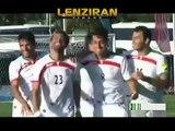 Iran national football team scored  6 goal to Guam !