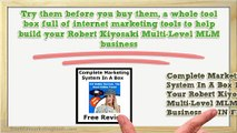 Free Trial Marketing Lead Tools For Robert Kiyosaki Multi-Level MLM Business