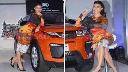 Jacqueline Fernandez At Launch Of The New Range Rover Evoque