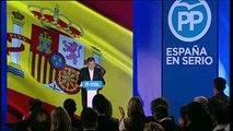 Rajoy presenta a sus candidatos y Sánchez descubre su programa
