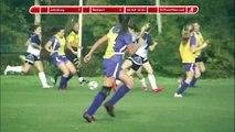 Girls Soccer - Johnsburg Jaquars vs Westport Eagles 09-30-14 - Score Bug - 1st Half