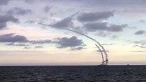 Des navires russes tirent 18 missiles de croisière sur Daech