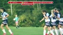 Girls Soccer - Johnsburg Jaquars vs Westport Eagles 09-30-14 - Score Bug - 2nd Half