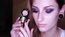 Get Ready With Me Day to Night GRWM Purple Smokey Eye Makeup Tutorial