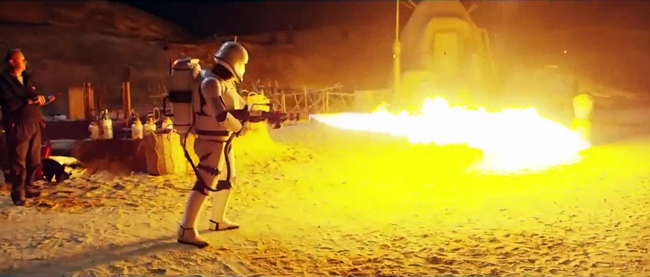 Yıldız Savaşları: Bölüm VII SET GÖRÜNTÜLERİ - Tür