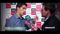 Luis Suarez Entrevista - Real Madrid vs Barcelona 0-4 El Clasico 2015