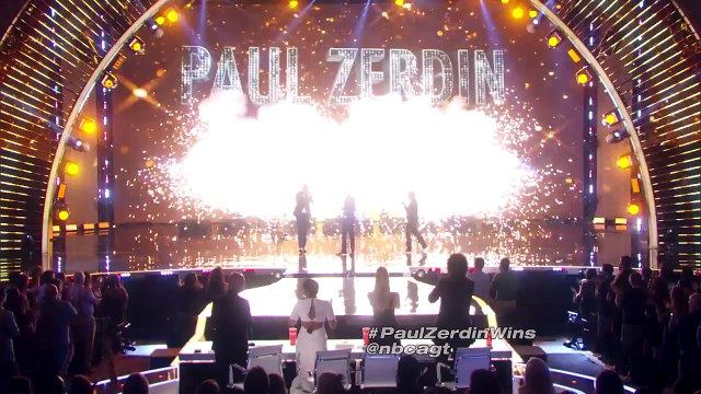 Paul Zerdin Wins Americas Got Talent Season 10 - Americas Got Talent 2015 Finale