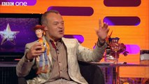 Is the Woody dolls voice really Tom Hanks? The Graham Norton Show Series 9 Episode 9 BBC