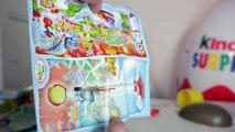 [OEUF & JOUET] Super maxi géant Kinder Surprise plein de jouets et oeufs Unboxing giant fu
