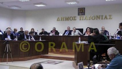 Δημοτικό Συμβούλιο Δήμου Παιονίας 19-11-2015 «Έγκριση Προϋπολογισμού και Ο.Π.Δ. (στοχοθεσία) οικονομικού έτους 2016»