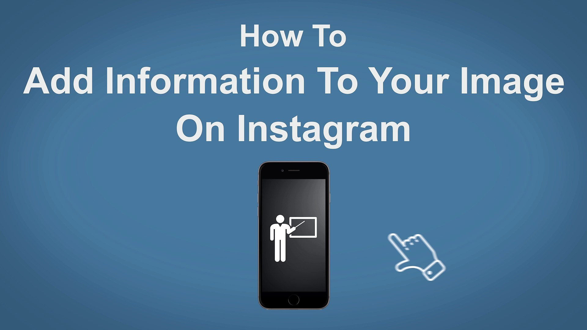 How To Add Information On Instagram Photos - Instagram Tip 12