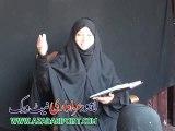 Moualma Rubab Haider Of Faisalabad Majlis 4 Muharram 2015 Chak 421 Karpala Tandlianwala