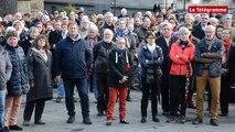 Saint-Brieuc. Attentats : 300 manifestants devant la préfecture à Saint-Brieuc