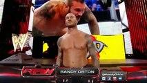WWE RAW John Cena & Roman Reigns vs Randy Orton, Seth Rollins _ Kane 2 on 3 Handicap Full Match 2015