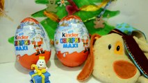 Play Kids Toys-Kinder surprise MAXI Giant eggs unboxing toys kinder chocolate eggs