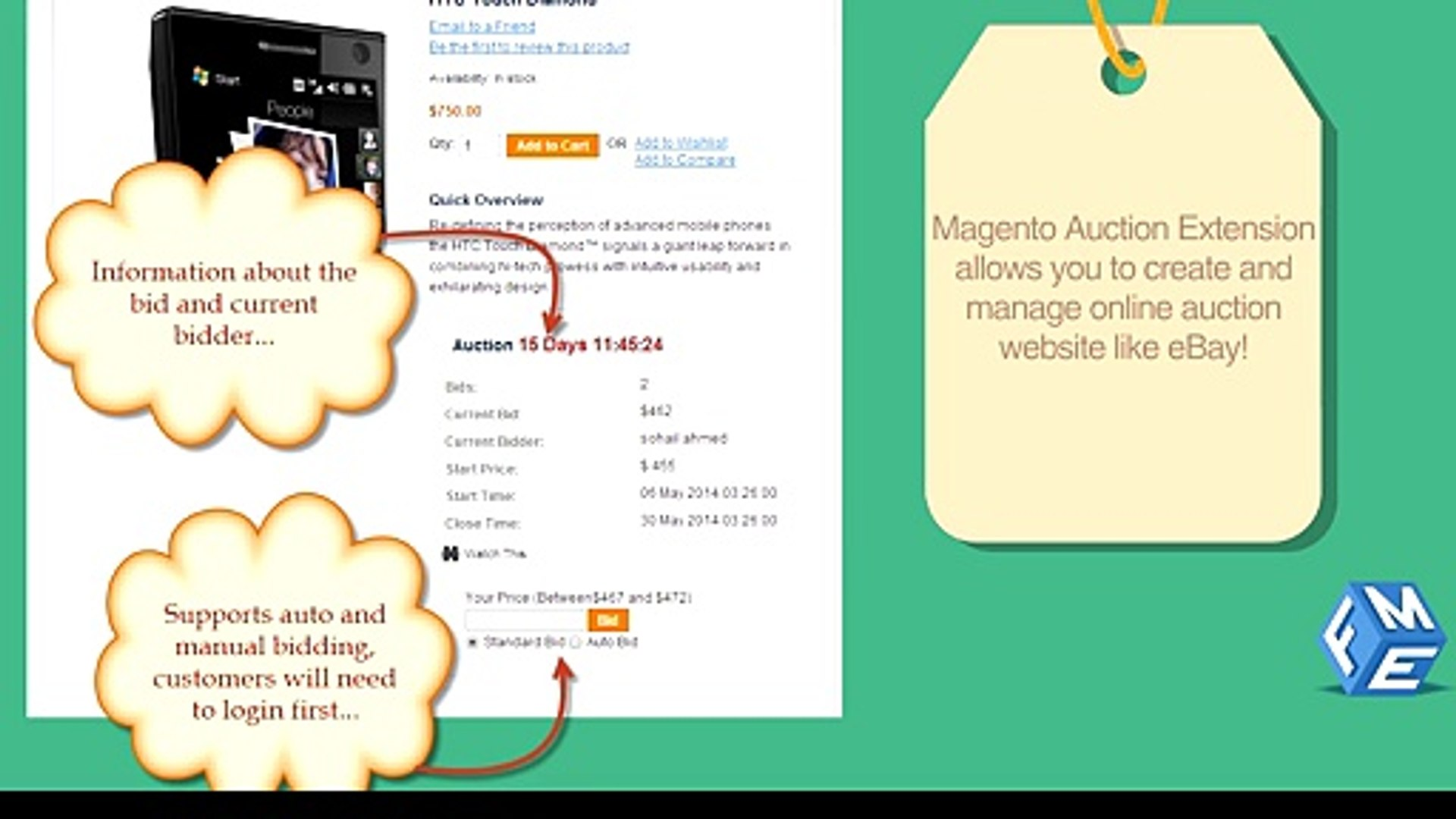 Magento Auction Extension Build Your Own Auction Website Video Dailymotion