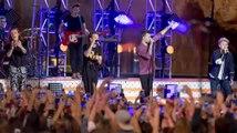 One Direction sale en Jimmy Kimmel antes de tomarse un descanso musical
