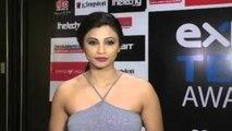 Exhibit Tech Awards 2015   Daisy Shah, Taapsee, Sophie Choudry, Manjari Fadnis, Elli Avram, Zoya