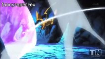 Mega Charizrd X vs Mewtwo. ENGLISH. full battle HD ( pokemon the origins )