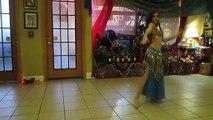 11-year-old Little girl belly dancer Orlando Belly Dancer