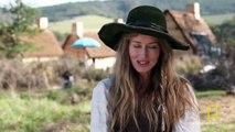 Natascha McElhone: Playing Elizabeth Hopkins | Saints & Strangers