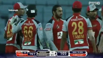 watch saeed Ajmal 2 Wickets in a over bpl