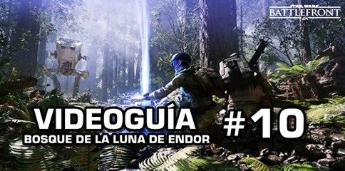 Star Wars: Battlefront, Vídeo Guía: 10- Bosque de la Luna de Endor.