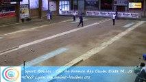 Second tour, point de précision, Club Elite masculin J5, CRO Lyon contre Saint-Vulbas, Sport Boules, saison 2015-2016