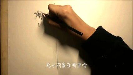 【洛天依原创曲】兔子先生【无名社】【手绘PV】