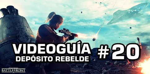 Star Wars: Battlefront, Vídeo Guía: 20- Depósito Rebelde.