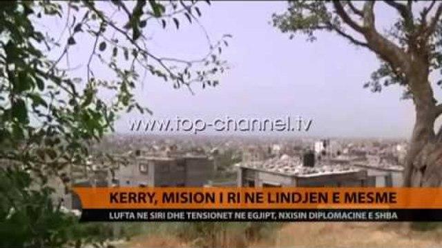 Kerry, vizitë në Lindjen e Mesme - Top Channel Albania - News - Lajme