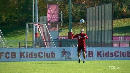 Brasileiros do Bayern dão show em treino!