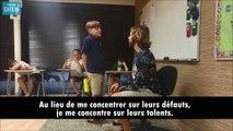 Cet enseignant complimente ses élèves un par un tous les jours