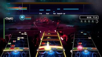 New Rock Band 4 DLC  Van Halen! de Rock Band 4