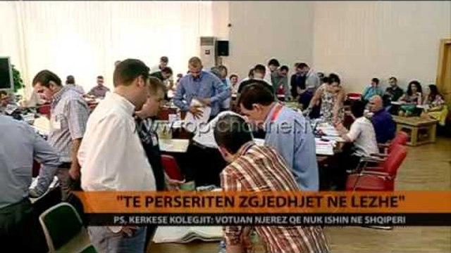"""""""Të përsëriten zgjedhjet në Lezhë"""" - Top Channel Albania - News - Lajme"""
