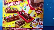 CHOCOLATE CANDY BAR MAKER Toy Oreo Cookies M&Ms Sweet Treats Family Kids Fun Hersheys Chocolate