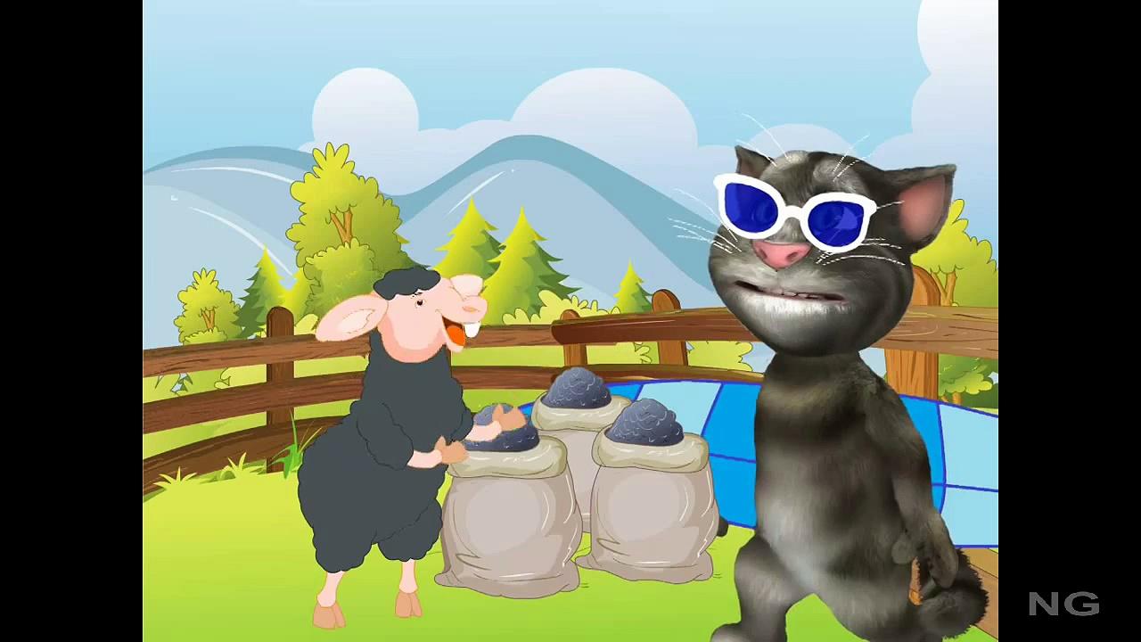 Baa Baa Black Sheep English Nursery Rhymes For Kids | Baa Baa Black Sheep HD Animation Rhy