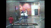 Homem é baleado após briga em terminal rodoviário