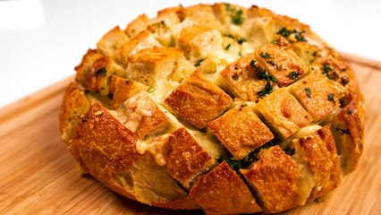 Pull Apart Cheesy Garlic Bread, Something The Whole Family Can Fight Over