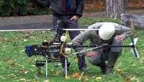 Démonstration de drone par l'IFSTTAR