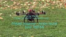 Démonstration de drone par Avion Jaune pour l'IRSTEA